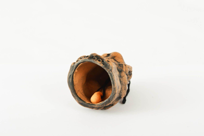 Handmade ceramic bell photo 2