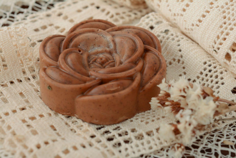 Handmade soap with cinnamon photo 1
