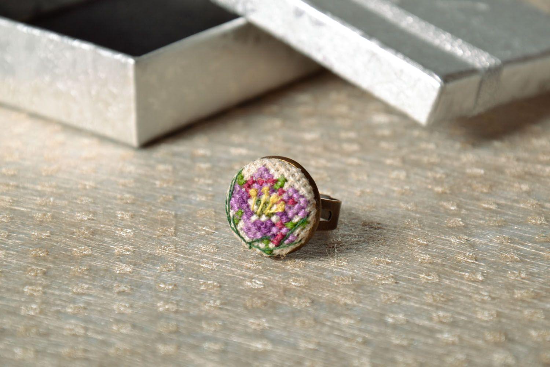 Круглое кольцо фото 1