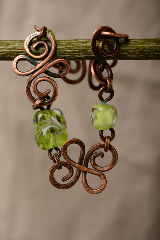 Copper wrist bracelet photo 3