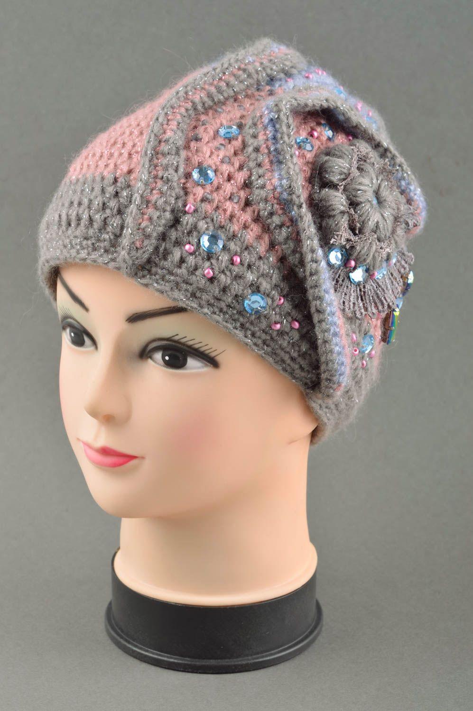 prendas para la cabeza Gorro tejido de lana estiloso para invierno  accesorio de moda ropa para 31485eb80b2