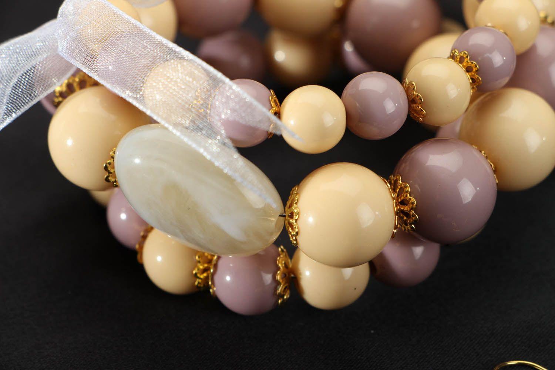 Set of beaded jewelry photo 3