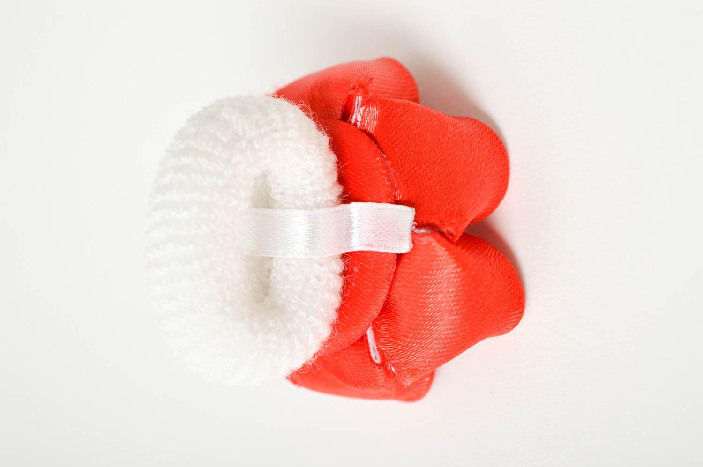 Handmade designer hair tie unusual flower accessory elegant cute hair tie photo 4