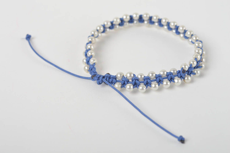 pulseras Pulsera hecha a mano de cordones bisutería artesanal regalo para niñas , MADEheart.com