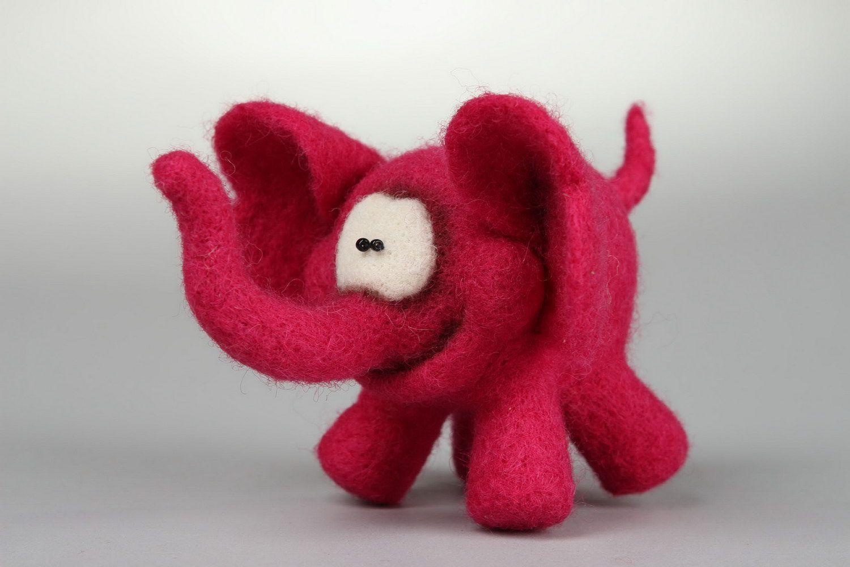 Soft toy Pink elephant photo 1