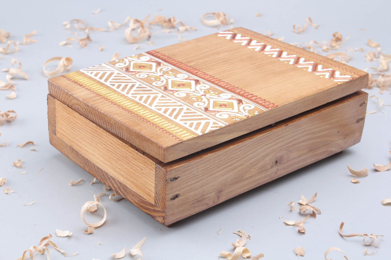 caixas Caixa pintada para cigarro feita de madeira à mão para  #A56126 1500x1000