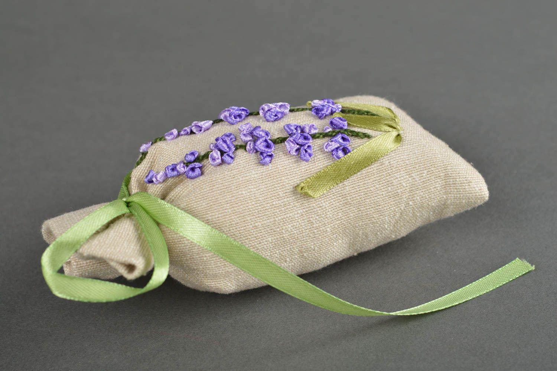 Handmade decor fabric bag for sachet embroidered bag decorative use only photo 4
