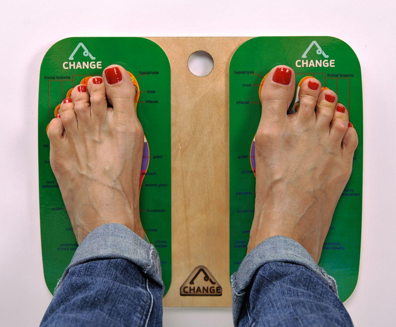 Wooden foot massage tool photo 3