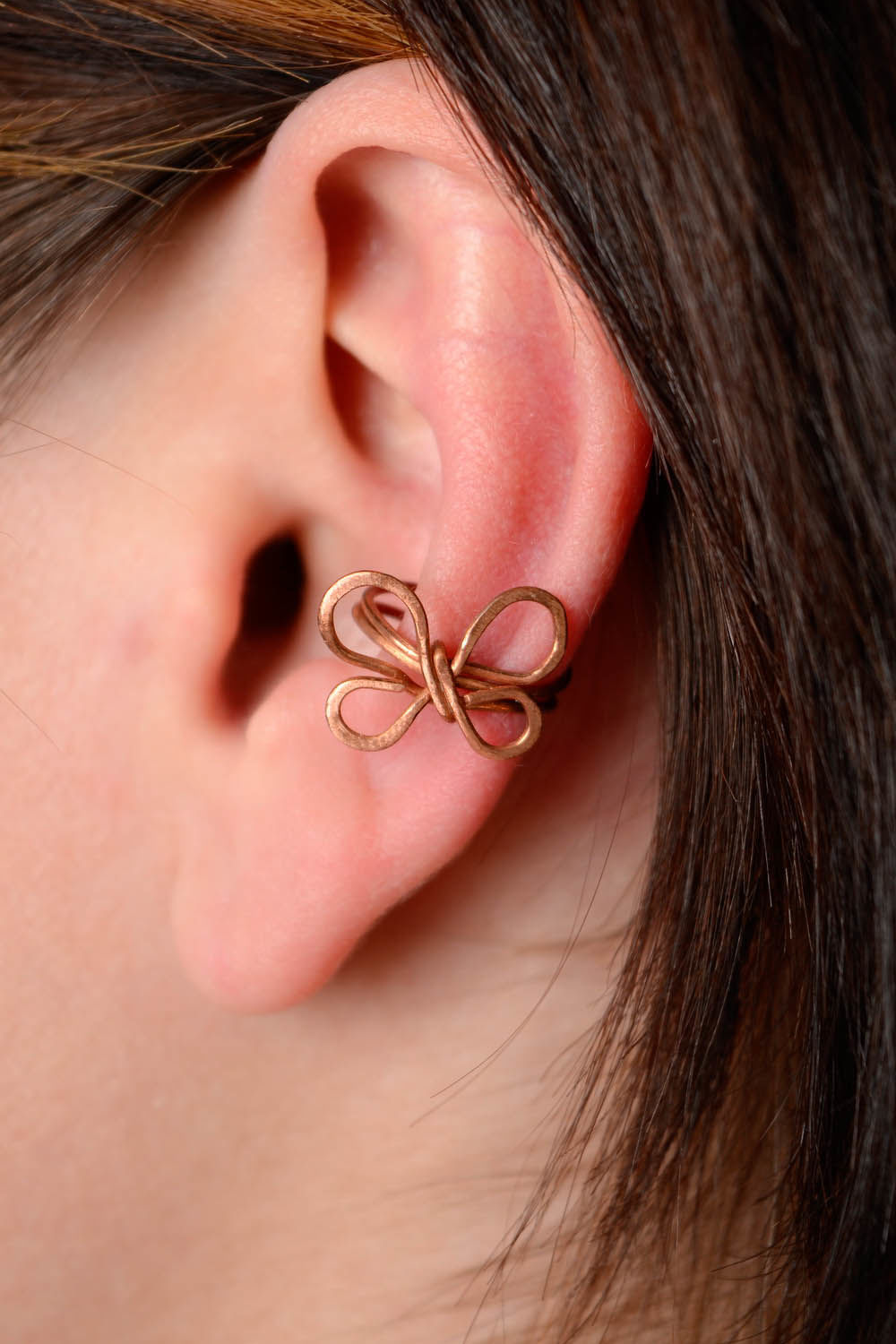 ear cuff Copper cuff