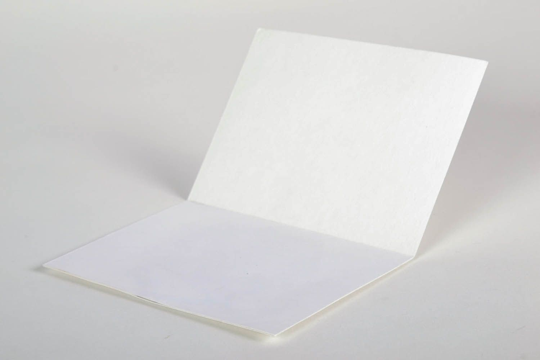 Christmas card made using the art of iris folding photo 3