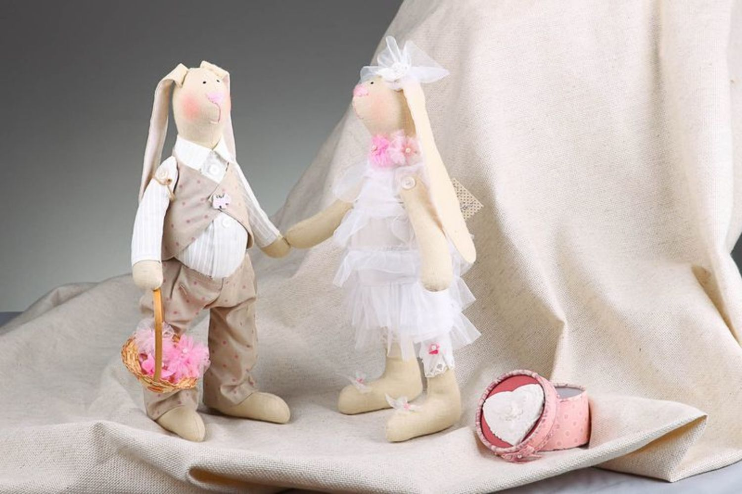 Set of soft toys Just married photo 1