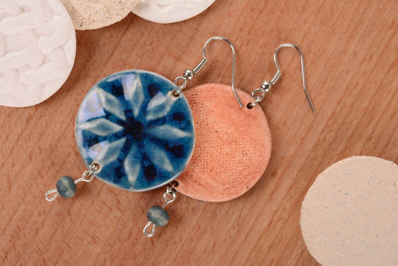 Keramik Ohrringe-Amulett Frauen Alatyr foto 4