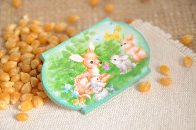 Handmade fridge magnet decoupage ideas modern kitchen decorative use only photo 1