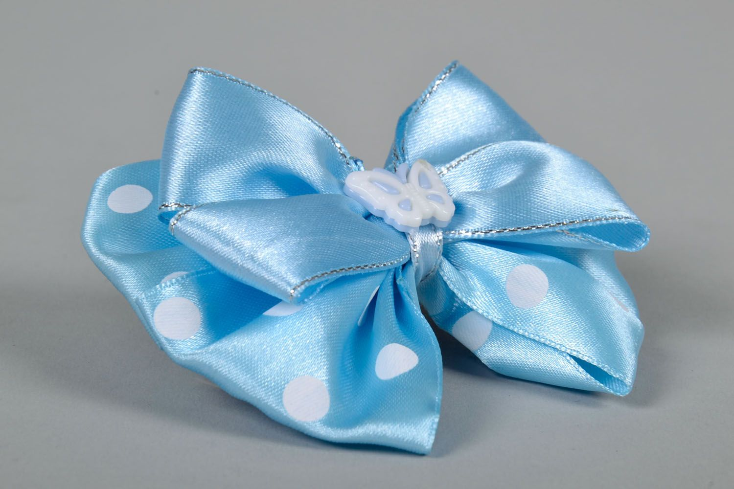 Bow hair clip photo 4