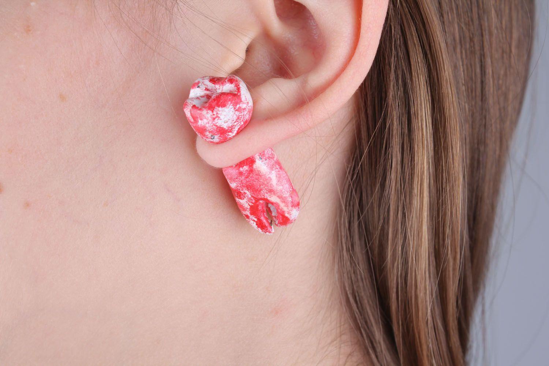 ear cuff Fake ear plugs - MADEheart.com