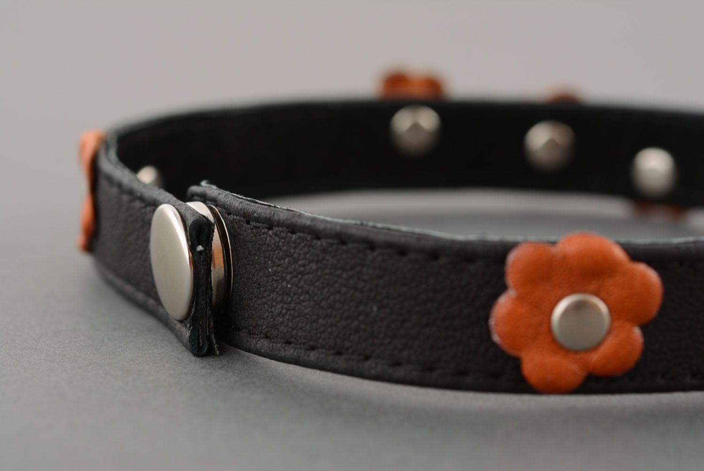 Leather double wrap bracelet photo 5