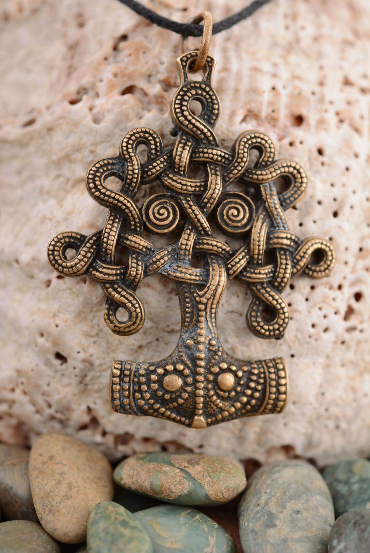 Bronze pendant Tree of Life photo 1