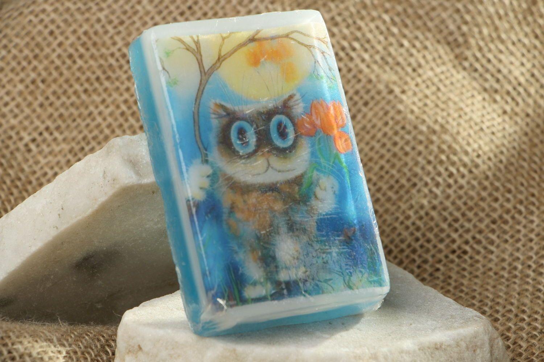 Soap-picture with orange aroma photo 1