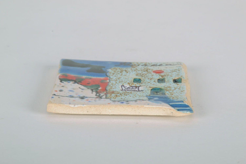 Clay fridge magnet Panama photo 5