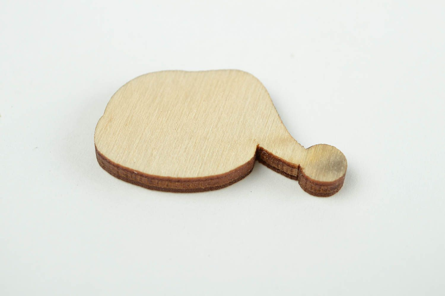 Unusual handmade plywood blank wood craft cute blanks for painting gifts for kid photo 5