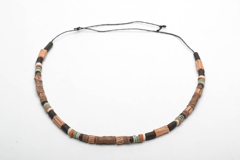 Designer ceramic necklace photo 4
