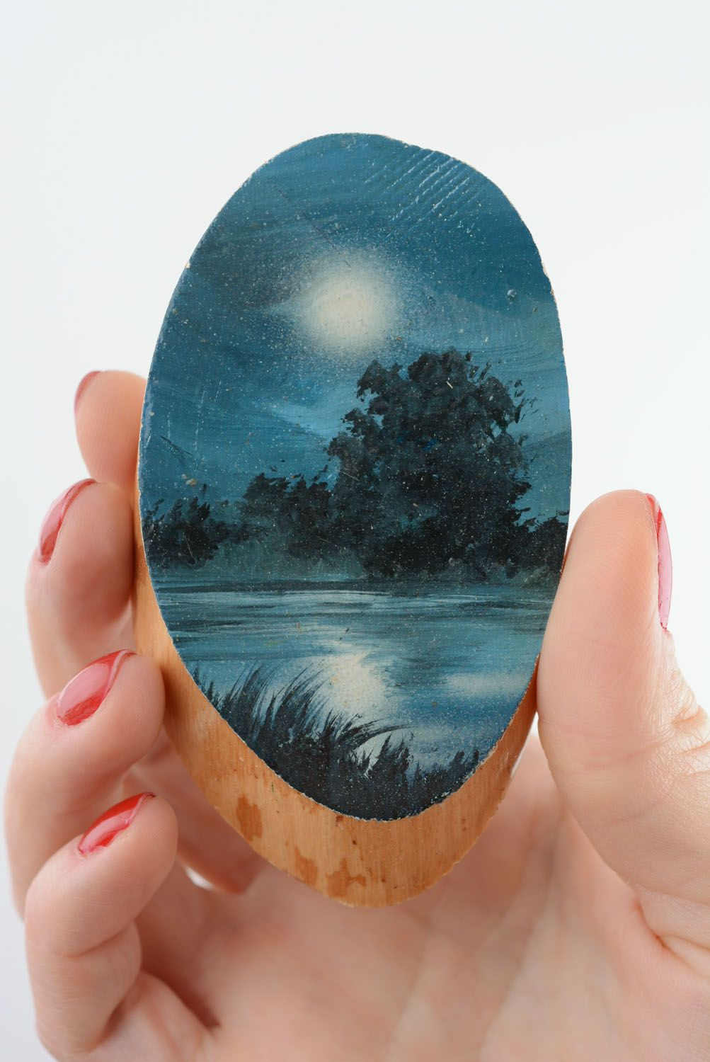 Fridge magnet Moon Night photo 3