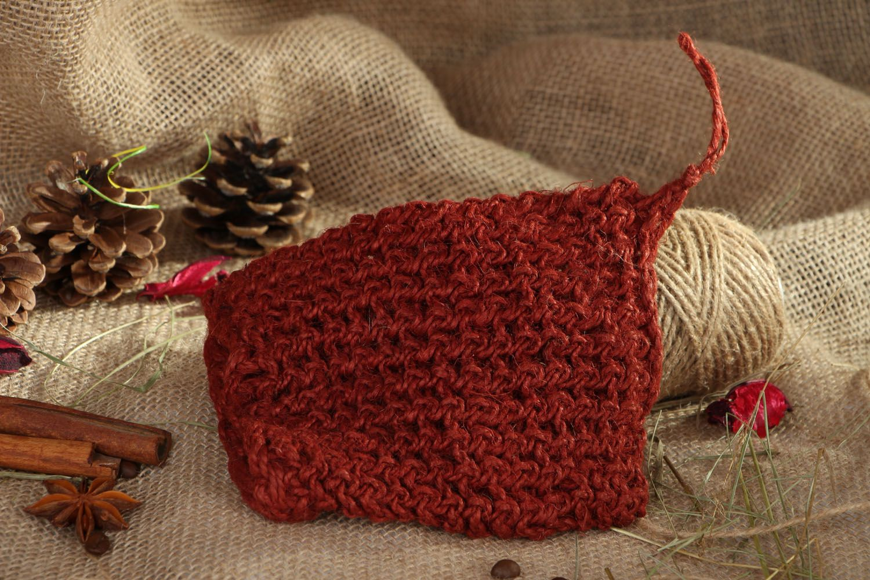 Hand crochet body scrubber  photo 5