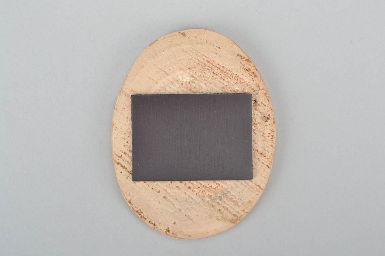Wooden magnet for fridge photo 4