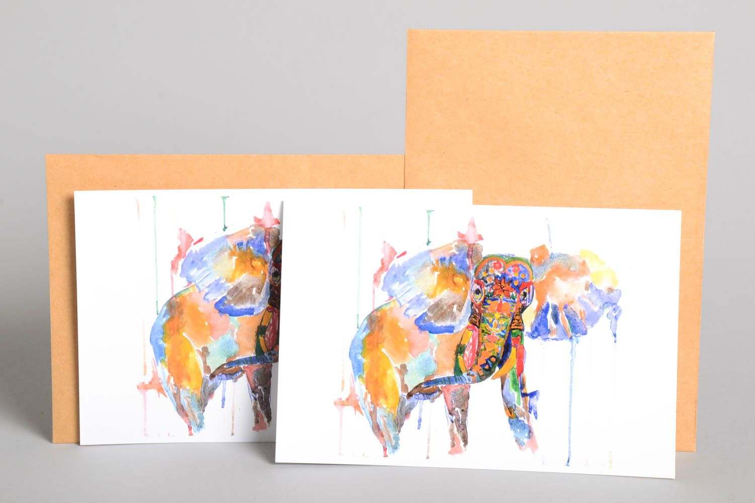 Handmade greeting cards unusual gift designer greeting cards for signature photo 2