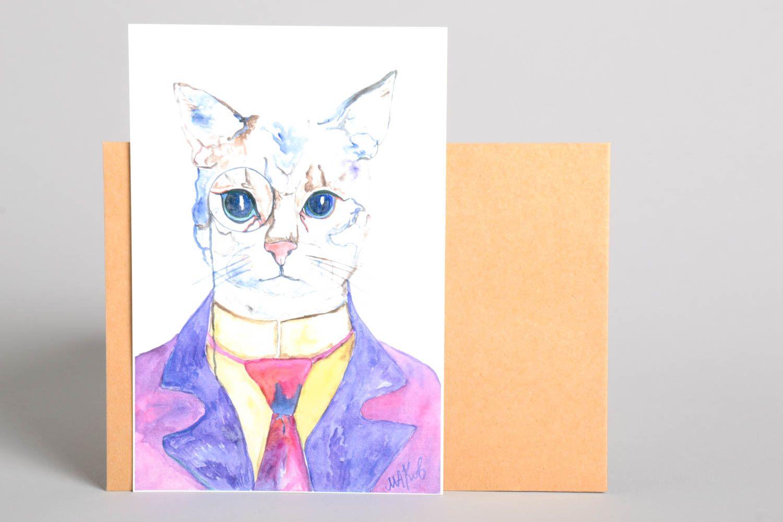 Handmade greeting card postcard ideas gifts for friends souvenir ideas  photo 2