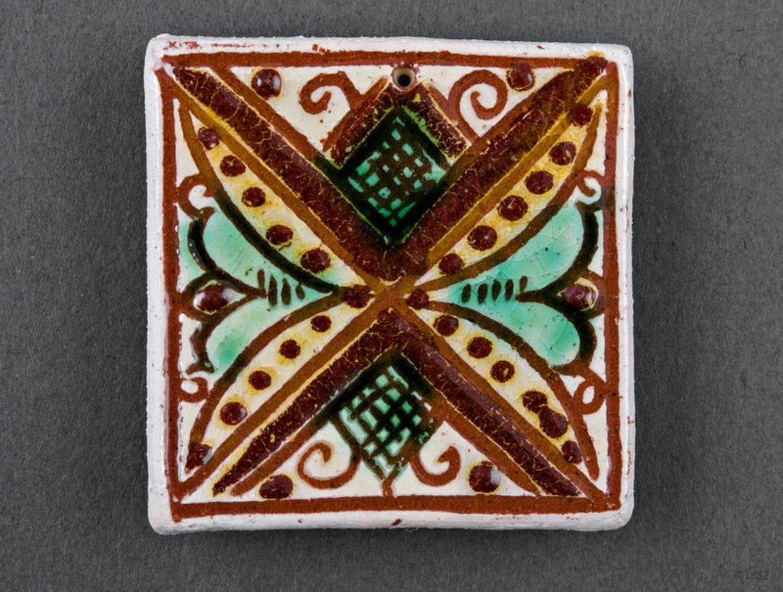 Ceramic handmade fridge magnet photo 4