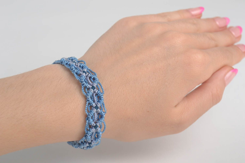 Handmade bracelet macrame bracelet designer jewelry women accessories gift ideas photo 1