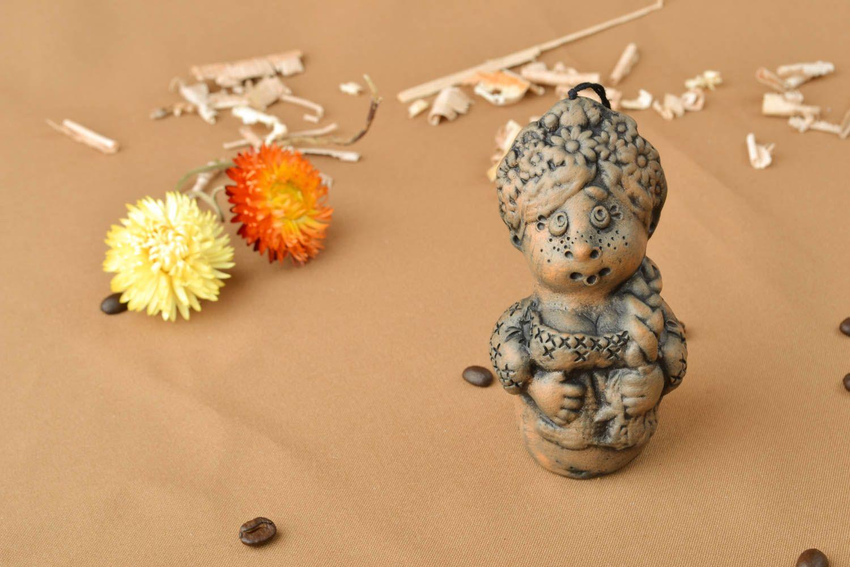 Ceramic bell kilned with milk Ukrainian Girl photo 5