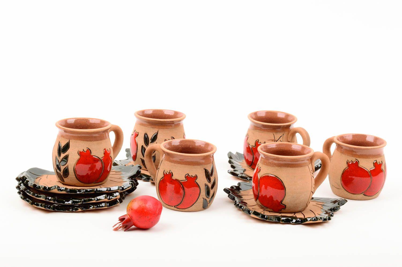 Madeheart tazas artesanales de arcilla para t menaje de - Tazas de te originales ...
