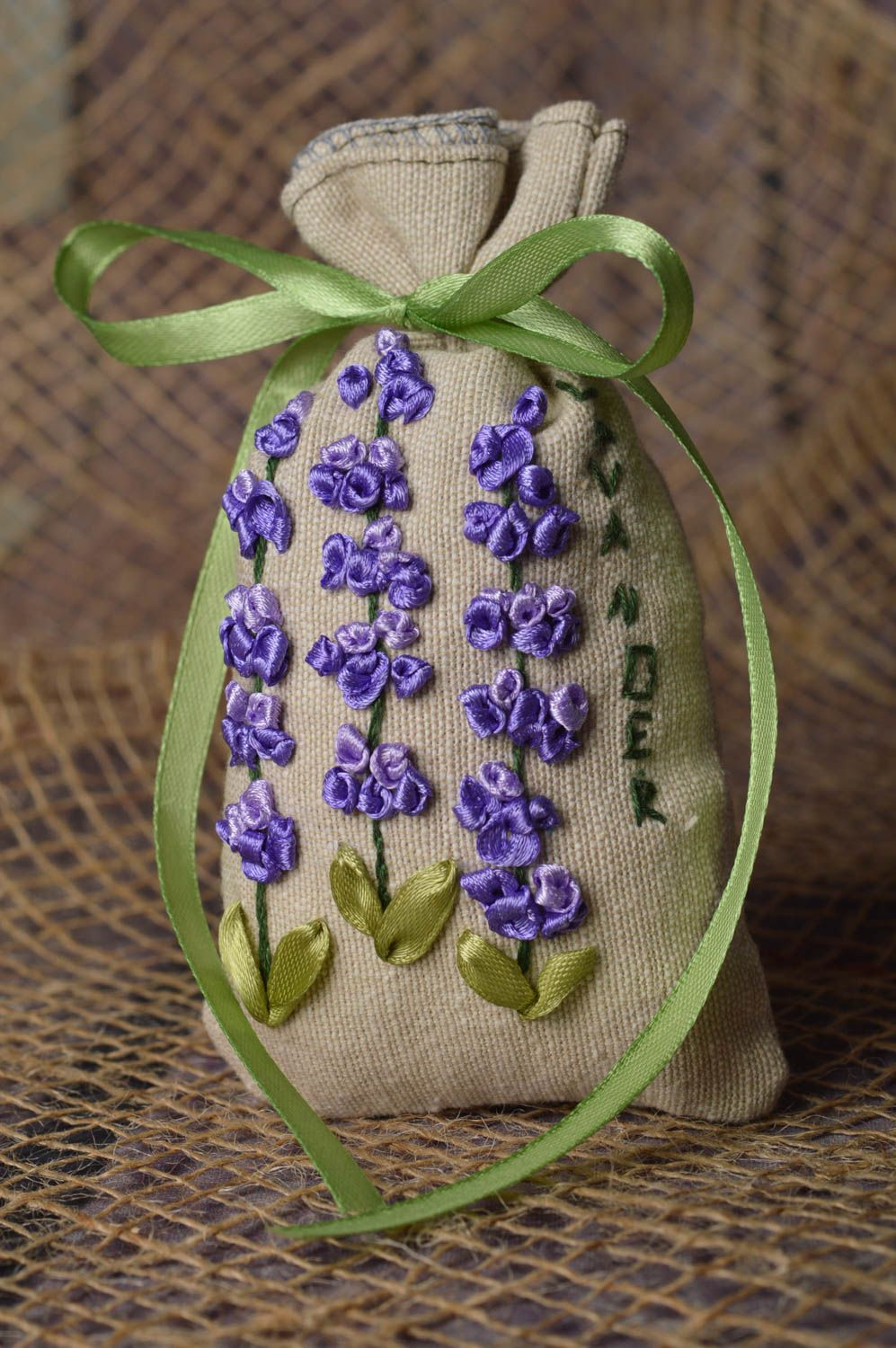 Handmade bags for aromatic sachets cute embroidered bag decorative use only photo 1