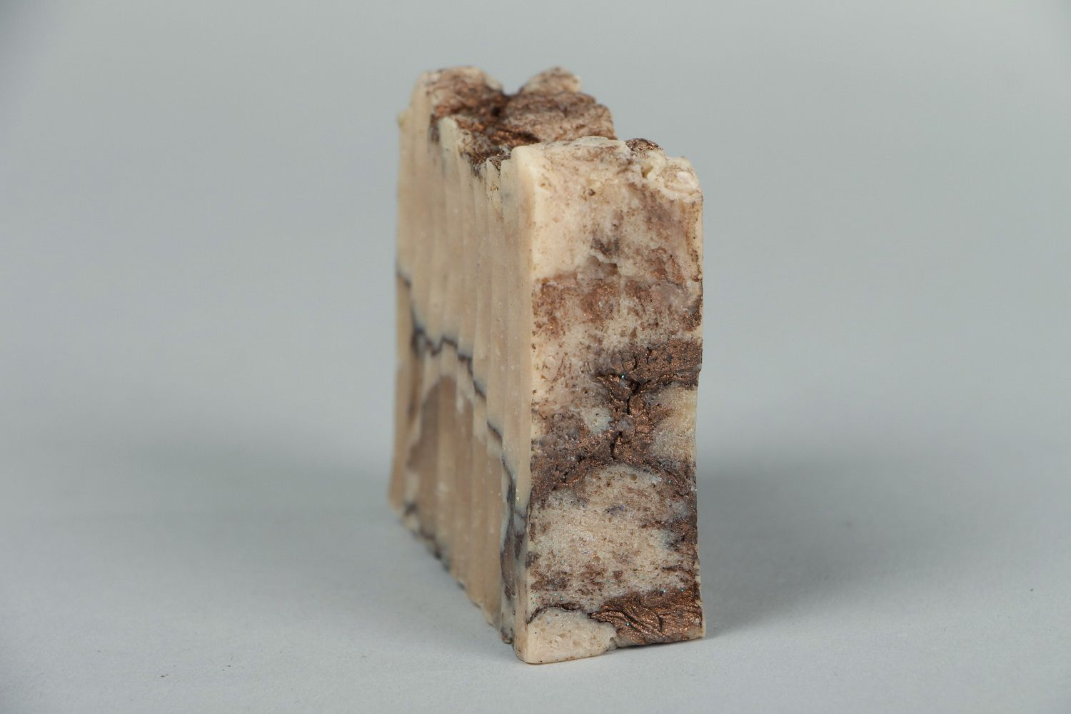 Handmade soap with almond oil photo 2