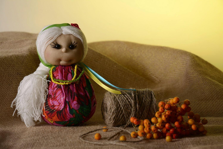Sachet doll made from natural fabrics photo 4