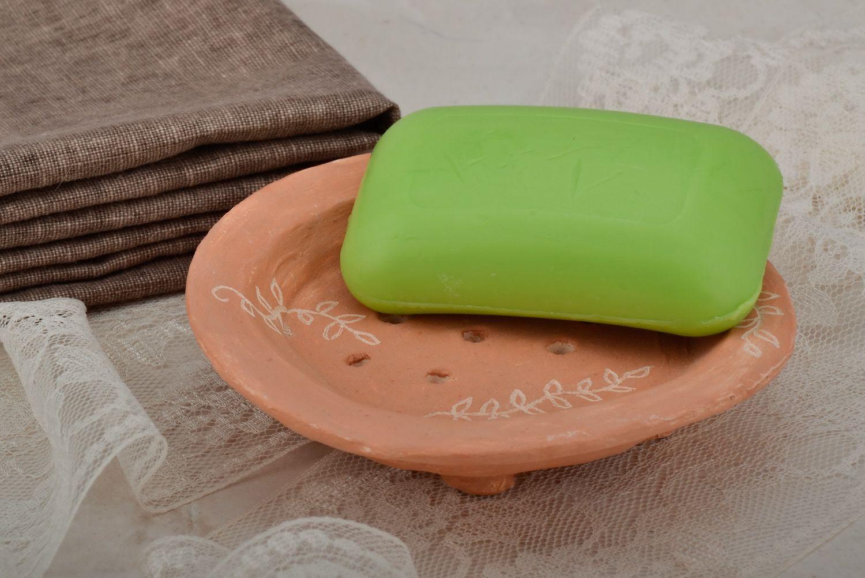 Clay soap dish photo 5