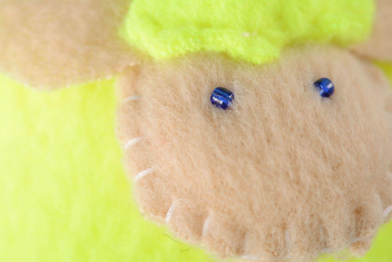 Fleece toy Yellow Lamb photo 2