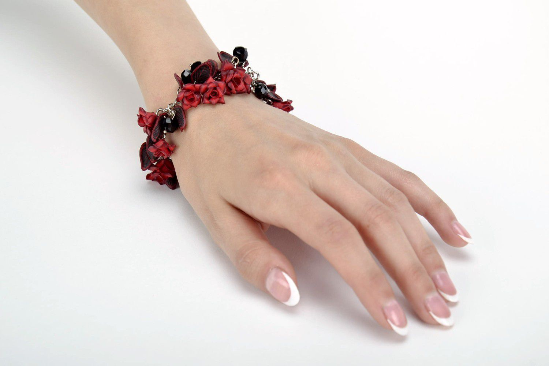 charm bracelets Handmade bracelet made from polymer clay - MADEheart.com