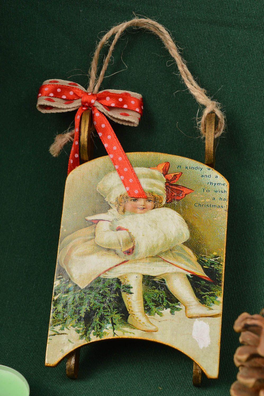 MADEHEART > Decoración navideña para casa hecha a mano adorno de fin ...