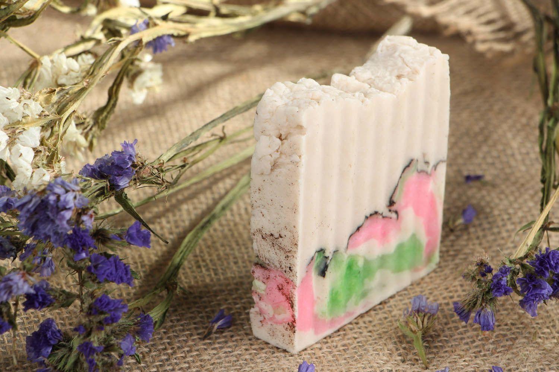 Handmade natural soap Strawberries photo 5