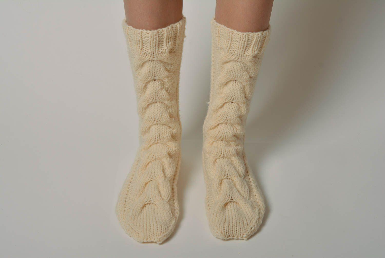 Вязание красивых носков и гольфов