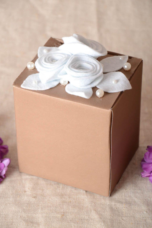 birthday Handmade present box cardboard box box for accessories jewelry box unusual gift - MADEheart.com