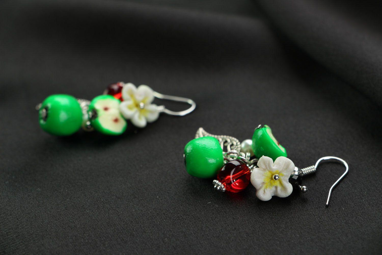 Handmade earrings photo 2