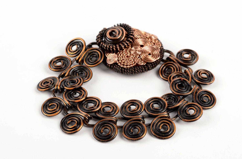 Handmade bracelet metal jewelry wrist bracelet charm bracelet unique gifts photo 3