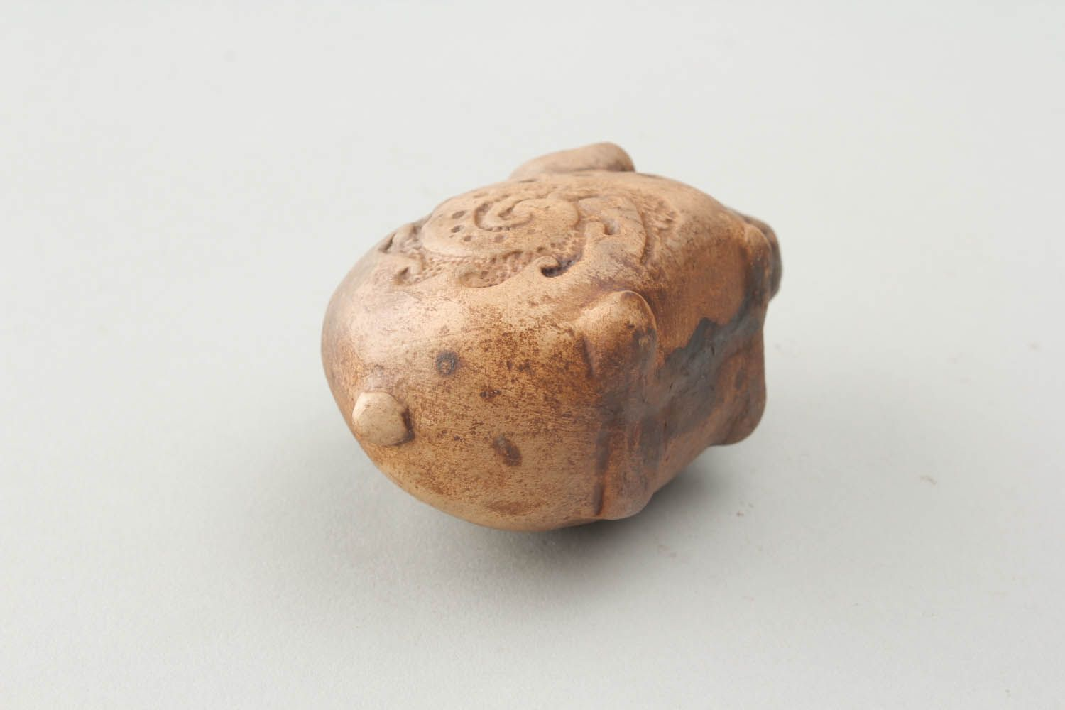 Ceramic whistle in the shape of a pig photo 5