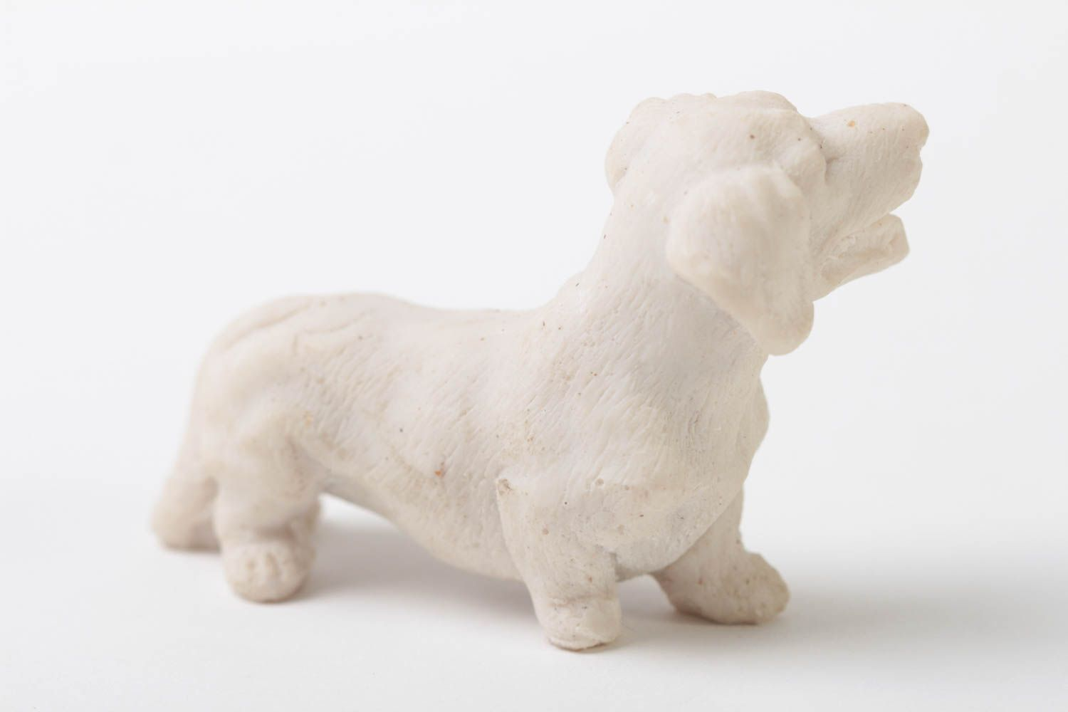 Handmade statuette unusual statuette home decor animal statuette dog figurine  photo 2