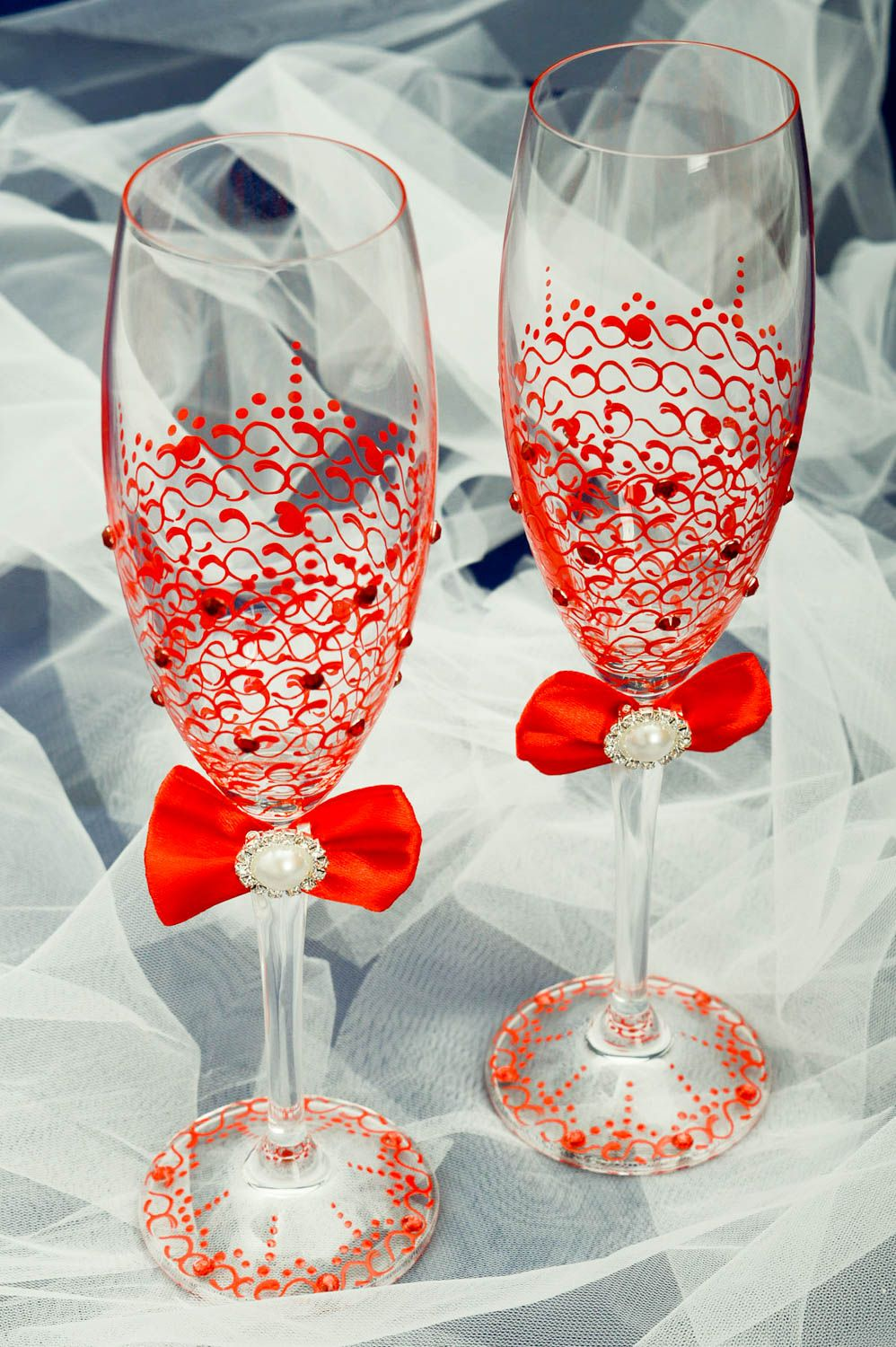 and glass happy glasses martini touch decor of a from decorative wine anniversary