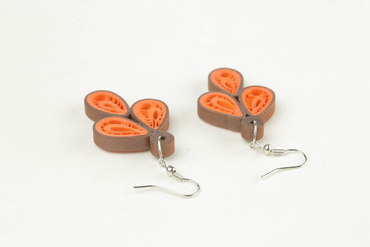 Earrings with pattern photo 4